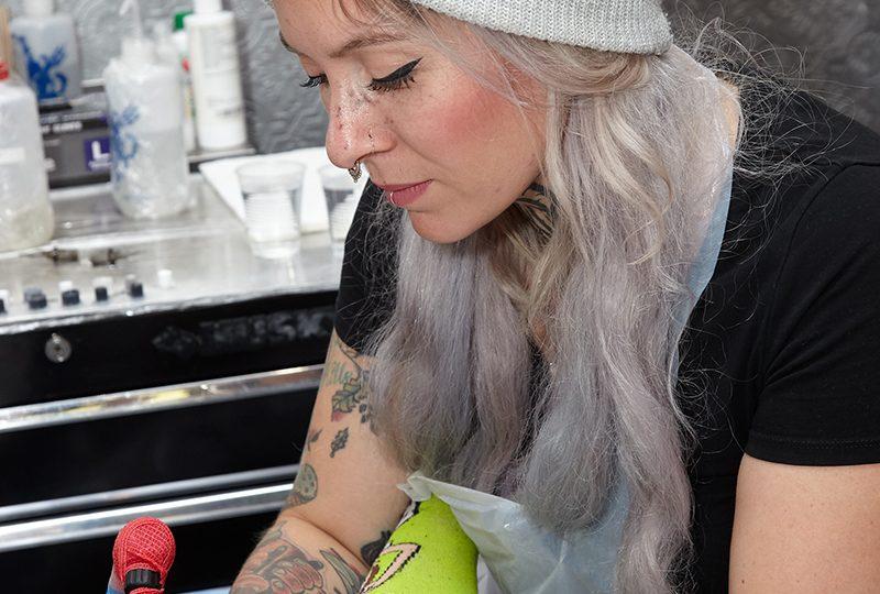 Brigitta Mathe- Chicago tattoo artist, lady tattooer, female tattoo artist, best tattoo artist chicago, chicago tattoo, tattoo near me, color realism tattoo