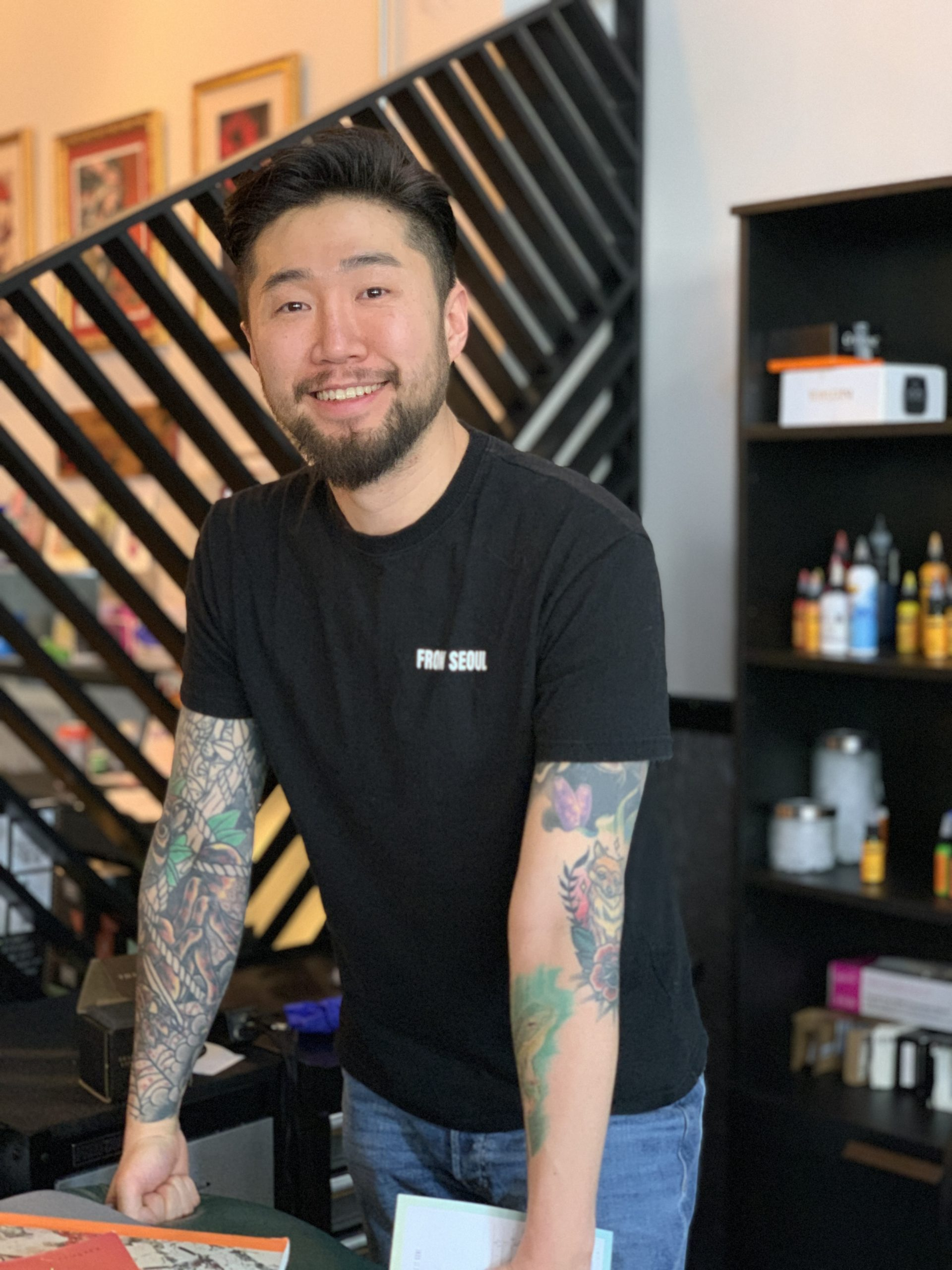 Zen (Gyungwook Kim). - Chicago tattoo artist, best tattoo artist chicago, chicago tattoo, tattoo near me. Japanese Tattoo