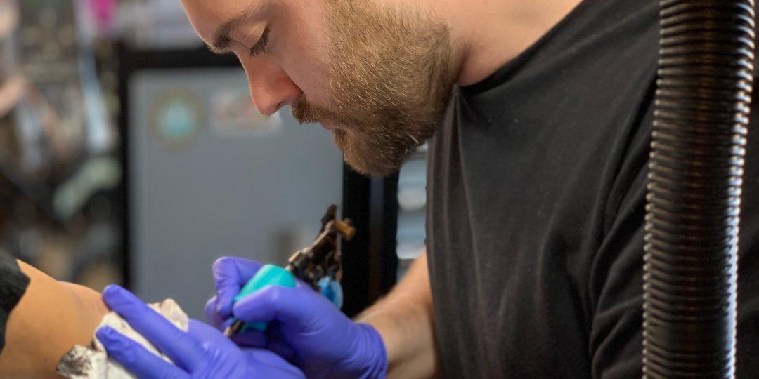 Colin O'Keefe- Chicago tattoo artist, best tattoo artist chicago, chicago tattoo, tattoo near me. Traditional tattoo blackwork tattoo