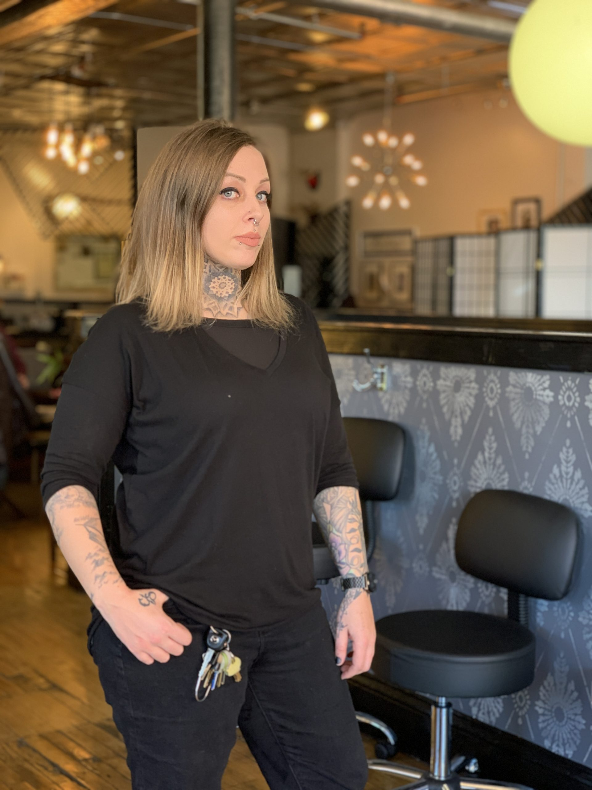 buddy. - Chicago tattoo artist, best tattoo artist chicago, chicago tattoo, tattoo near me. Blackwork Tattoo, QTTR, woman tattooer