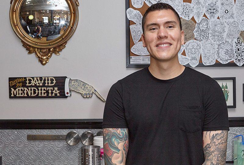 David Mendieta- Chicago tattoo artist, best tattoo artist chicago, chicago tattoo, tattoo near me. Traditional tattoo