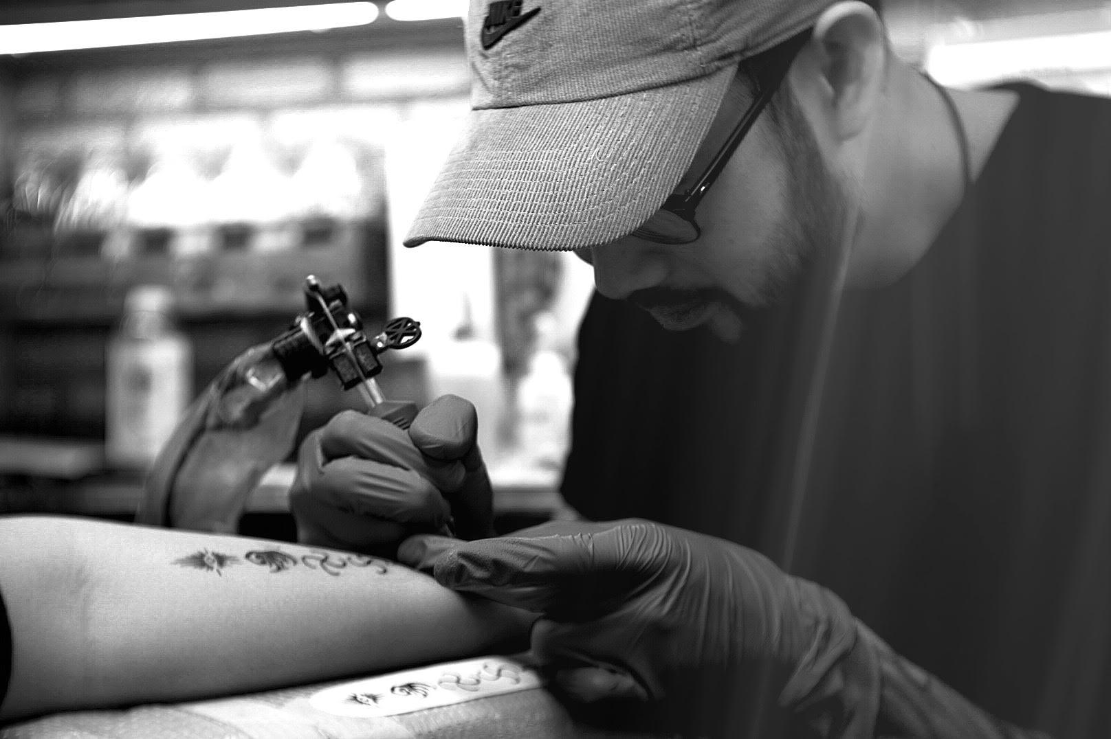David Sugihara Tattoo Artist Speakeasy Custom Tattoo